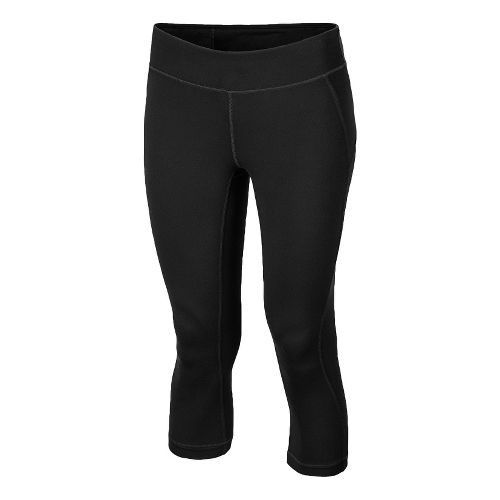 Womens New Balance Anue Spree Capri Capri Tights - Black L
