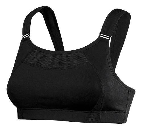 Womens New Balance Shockingly Unshocking Sports Bra - Black 32C