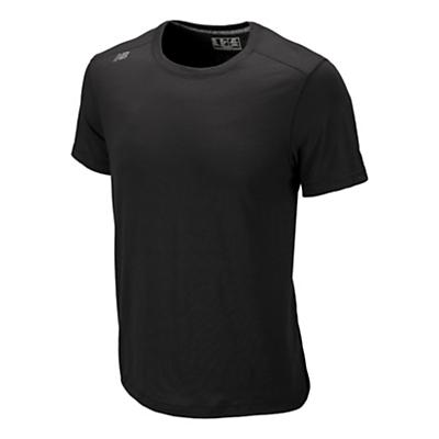 Mens New Balance Sure Thing Tee Short Sleeve Technical Tops