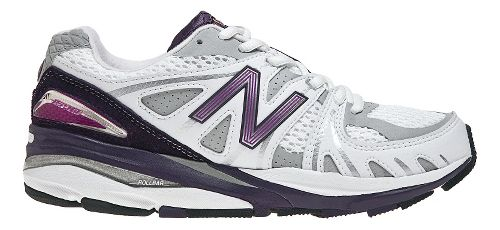 Womens New Balance 1540 Running Shoe - White/Purple 5