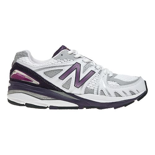 Womens New Balance 1540 Running Shoe - White/Purple 6