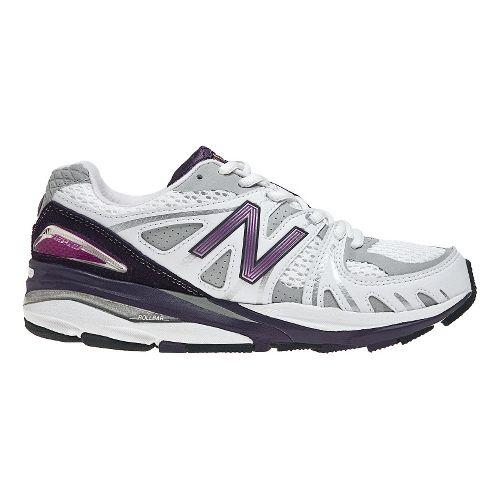 Womens New Balance 1540 Running Shoe - White/Purple 6.5