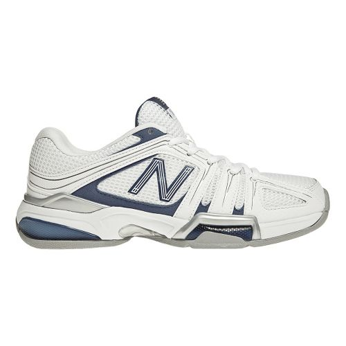 Womens New Balance 1005 Court Shoe - White/Navy 10.5
