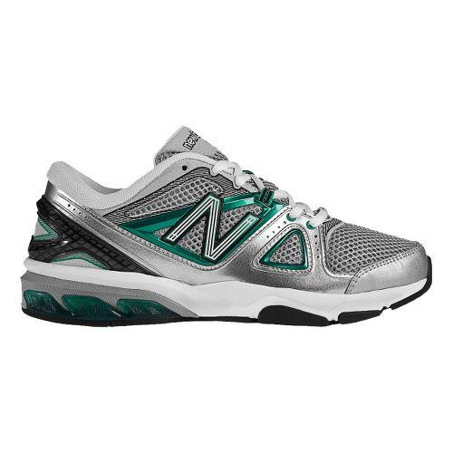 Womens New Balance 1012 Cross Training Shoe - Silver/Green 10