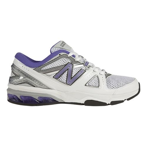 Womens New Balance 1012 Cross Training Shoe - White/Blue 12