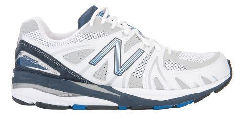 Mens New Balance 1540 Running Shoe - White/Blue 9