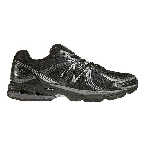Mens New Balance 770 Running Shoe - Black/Silver 11