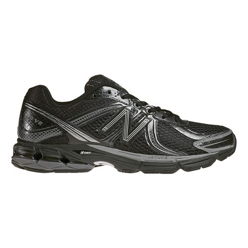 Mens New Balance 770 Running Shoe - Black/Silver 9