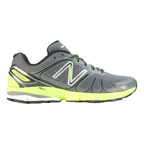 Mens New Balance 770 Running Shoe - Grey/Yellow 8.5