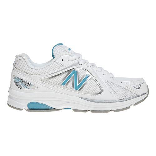 Womens New Balance 847 Walking Shoe - White/Blue 8.5