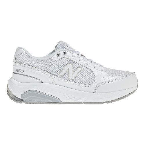 Womens New Balance 928 Walking Shoe - Mesh White 12