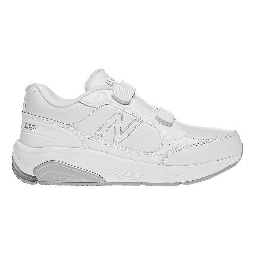 Womens New Balance 928 Walking Shoe - Strap White 10.5