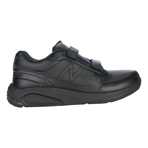 Mens New Balance 928 Walking Shoe - Strap Black 10.5