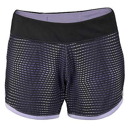 "Womens New Balance 5"" Print 2-in-1 Shorts"
