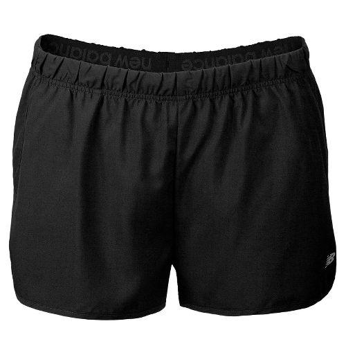 Womens New Balance Momentum Lined Shorts - Black XS