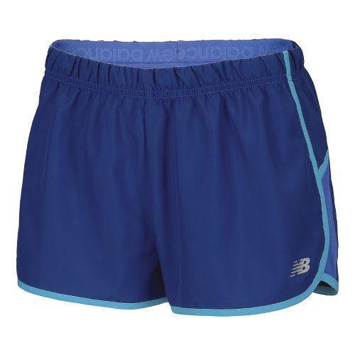 Womens New Balance Momentum Lined Shorts - Sodalite XS