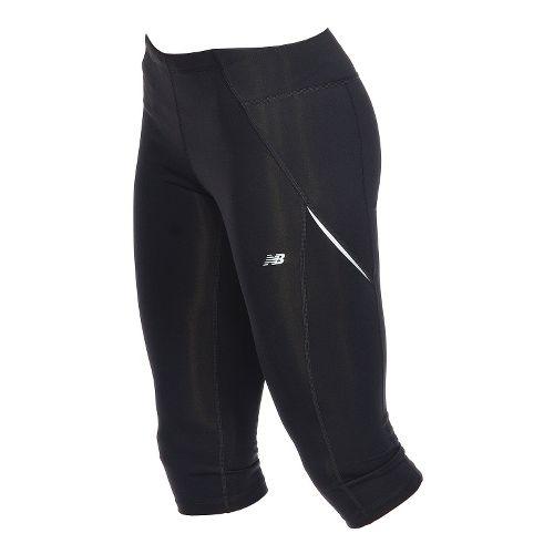 Womens New Balance Go to Capri Pants - Black S