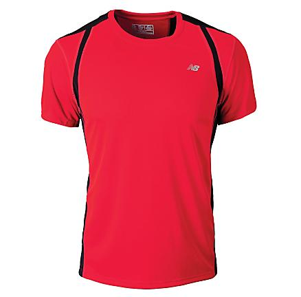 Mens New Balance NP Short Sleeve Technical Tops