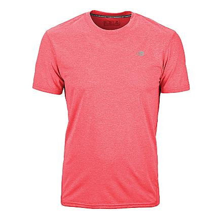 Mens New Balance Heathered Short Sleeve Technical Tops