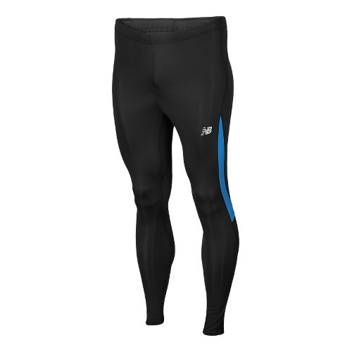 Mens New Balance Go 2 Fitted Tights - Vision Blue XXL