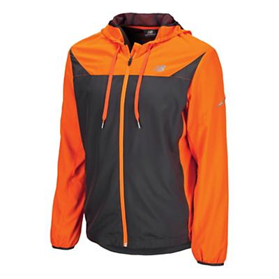 Mens New Balance Sequence Warm-Up Hooded Jackets