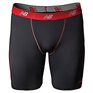 Mens New Balance Trubase Perf Short Boxer Brief Underwear Bottoms