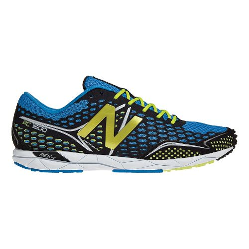 Mens New Balance 1600 Racing Shoe - Blue/Black 7.5