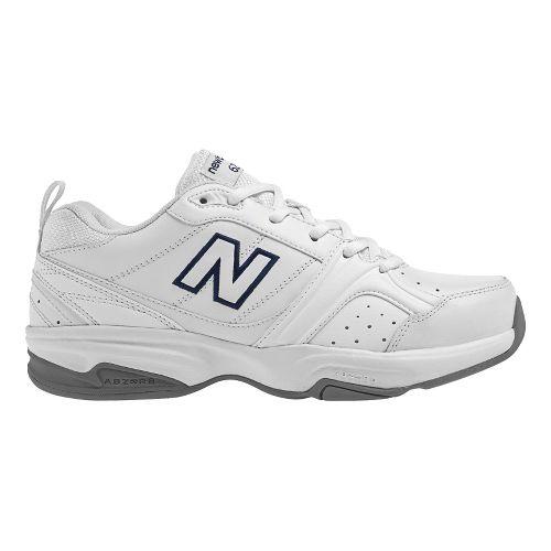 Womens New Balance 623v2 Cross Training Shoe - White 10.5
