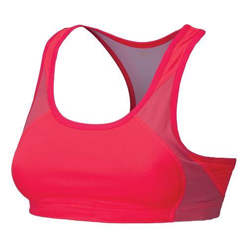 Womens New Balance The Fabulous Framer Sports Bras - Diva Pink XL