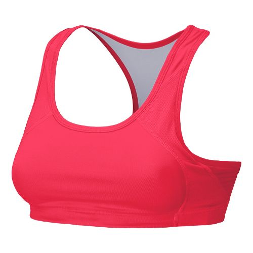 Womens New Balance The Fabulous Framer Sports Bras - Ruby Red L