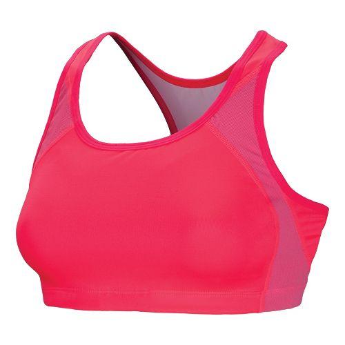 Womens New Balance The Fabulous Framer Sports Bras - Diva Pink XS