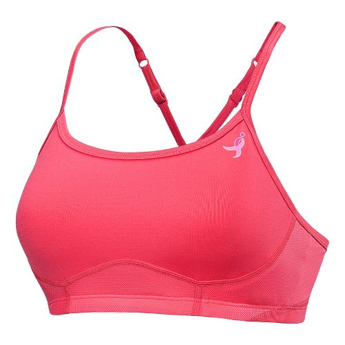 Womens New Balance The Tenderly Obsessive Sports Bras - Watermelon S