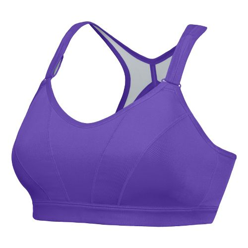 Womens New Balance The Comfy Conformer Sports Bras - Amethyst 34C