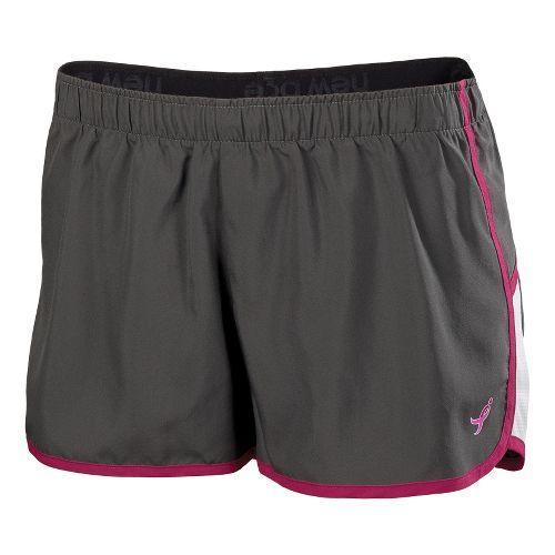 Womens New Balance Komen Momentum Lined Shorts - Magnet L