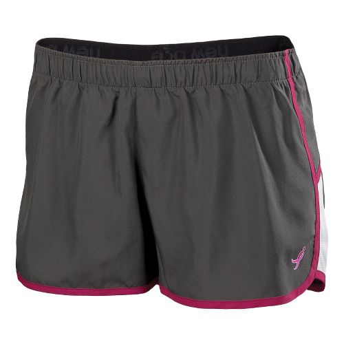 Womens New Balance Komen Momentum Lined Shorts - Magnet XL