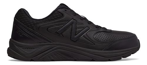 Mens New Balance 840v2 Running Shoe - Black/Black/Black 11