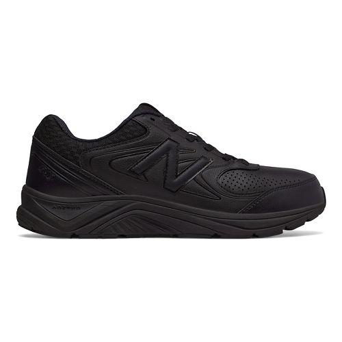 Mens New Balance 840v2 Running Shoe - Black/Black/Black 14