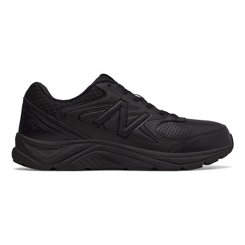 Mens New Balance 840v2 Running Shoe - Black/Black/Black 7