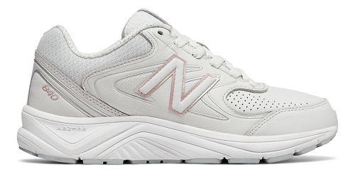 Womens New Balance 840v2 Running Shoe - Grey/Rose Gold 10.5