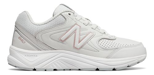Womens New Balance 840v2 Running Shoe - Grey/White 10