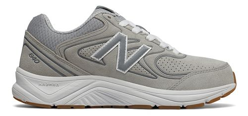 Womens New Balance 840v2 Running Shoe - Grey/White 9