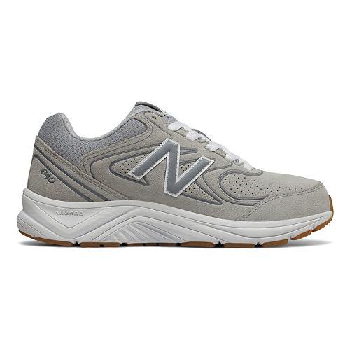 Womens New Balance 840v2 Running Shoe - Grey/White 9