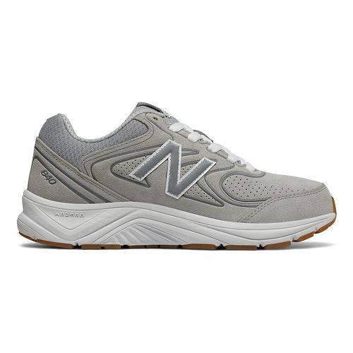 Womens New Balance 840v2 Running Shoe - Grey/White 9.5