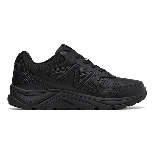 Womens New Balance 840v2 Running Shoe - Black/Black 10.5
