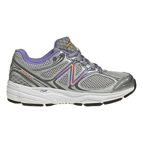Womens New Balance 840v2 Running Shoe - Silver/Pink 8