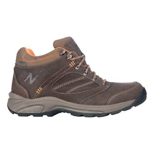 Mens New Balance 1569 Hiking Shoe - Brown/Orange 10.5