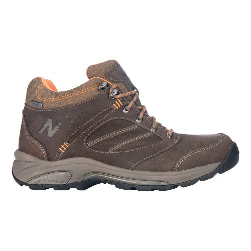 Mens New Balance 1569 Hiking Shoe - Brown/Orange 8.5