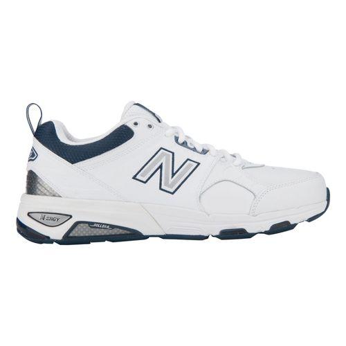 Mens New Balance 857 Cross Training Shoe - White 7.5