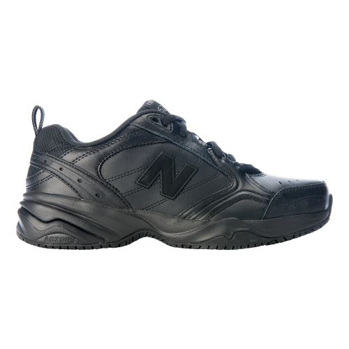 Womens New Balance 626 Walking Shoe - Black 10.5