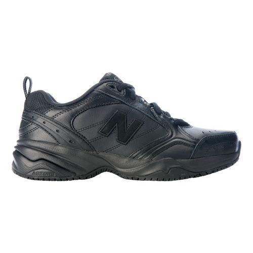 Womens New Balance 626 Walking Shoe - Black 8